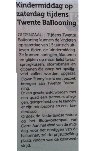 Clown ballooning oldenzaal