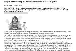 clown plechelmus oldenzaal