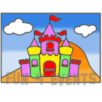 zandtekening kasteel