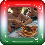 Pizza kinderfeest