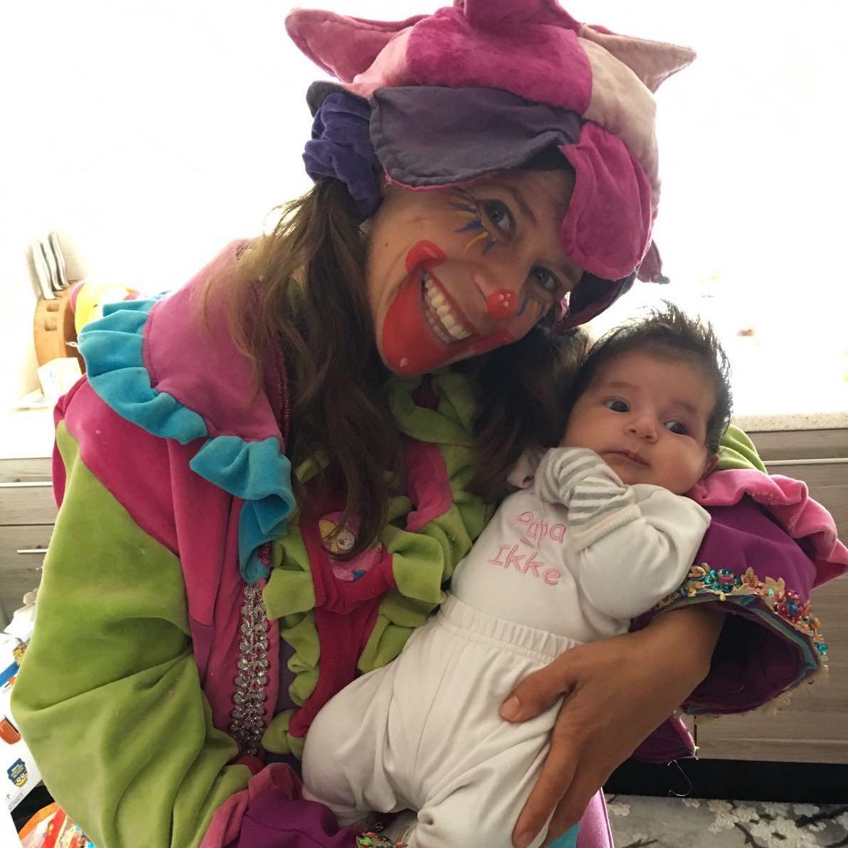 kraamfeest clown