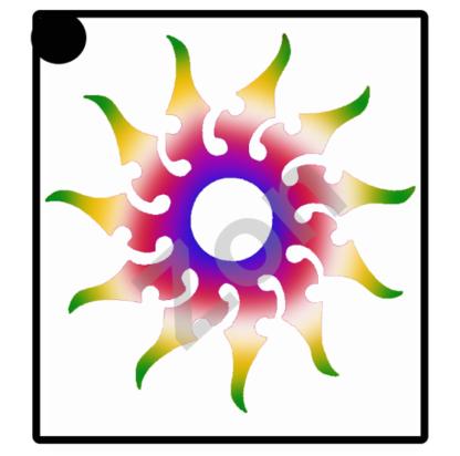 glittertatto zon
