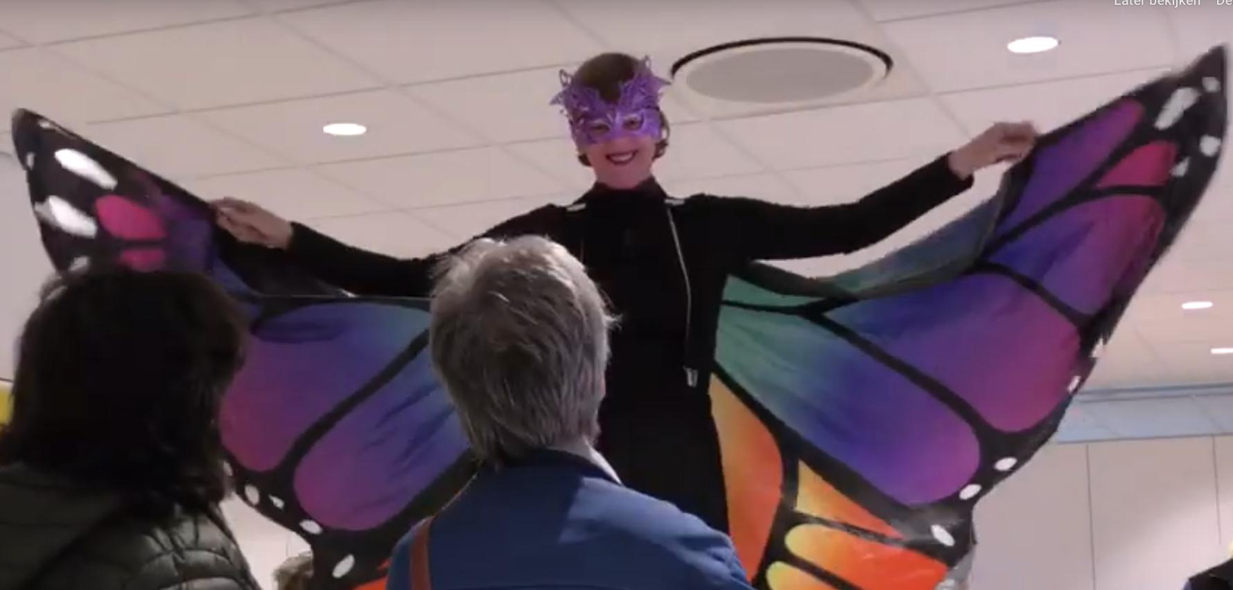 steltenloper vlinder