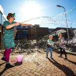 zeepbellen school zomerfeest
