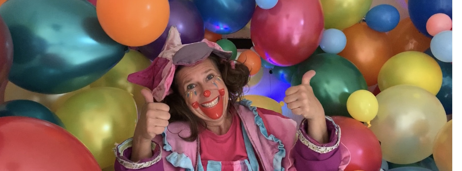 Clown Funny op je verjaardag Corona