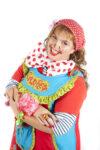 Fleur clown